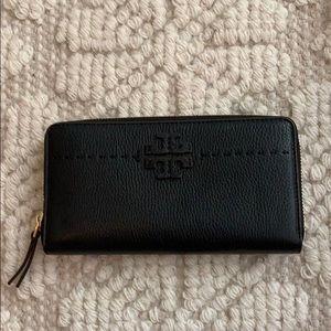 Tory Burch zip continental wallet